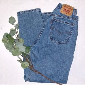 Levi | Vintage 550 Relaxed Tapered Mom Jeans